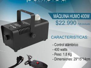 Maquina de humo 400w OFERTA $22.990