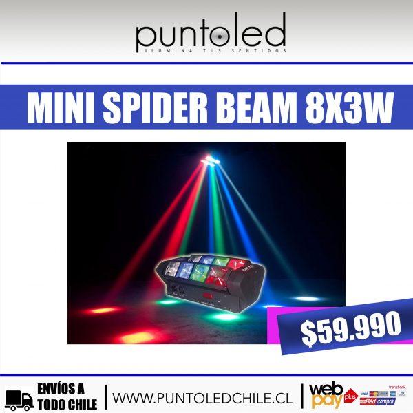 mini spider beam