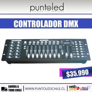 controlador dmx 512 - Punto led Chile