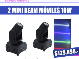 Pack 2 mini beam movil - Punto Led Chile - CYBERDAY