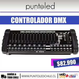 dmx 384 punto led