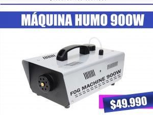 maquina humo 900w