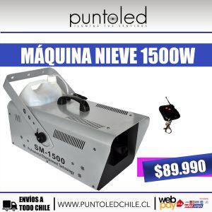 maquina de nieve 1500w