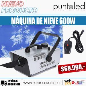 maquina nieve 600w - punto led chile