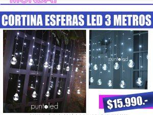 Cortina Esferas Led- Punto Led Chile - CYBERDAY.psd