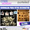 Guirnalda para fotos - Punto Led Chile - CYBERDAY