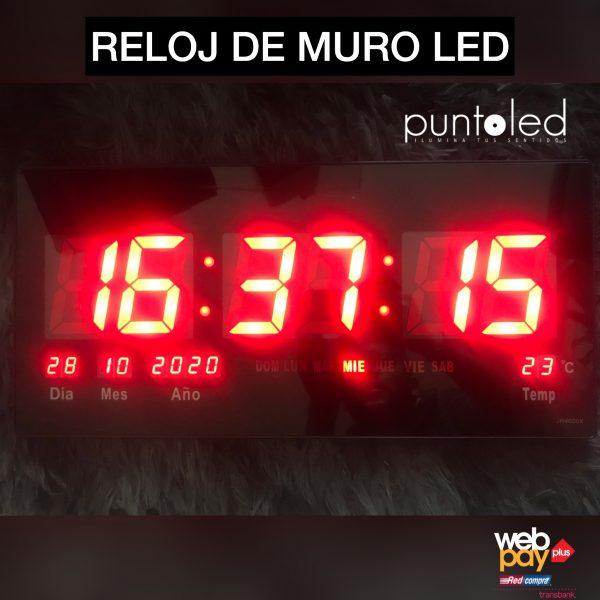 Reloj digital led - Punto Led