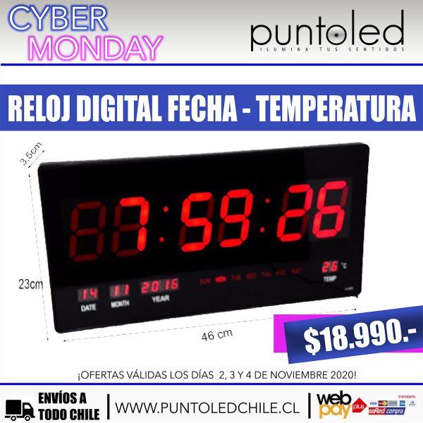 Reloj Digital - Punto Led Chile - CYBERDAY